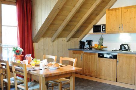 Vacances en montagne Résidence Lagrange les Arolles - Saint Gervais - Kitchenette