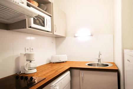 Holiday in mountain resort Résidence Lagrange les Chalets d'Ax - Ax-Les-Thermes - Kitchenette