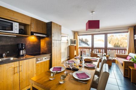 Vacances en montagne Résidence Lagrange les Chalets d'Edelweiss - La Plagne - Coin repas