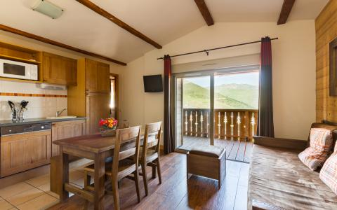 Vacances en montagne Résidence Lagrange les Chalets de l'Adet - Saint Lary Soulan - Salle à manger