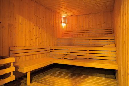Vacances en montagne Résidence Lagrange les Chalets du Mont Blanc - Les Saisies - Sauna