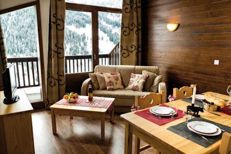 Vacances en montagne Résidence Lagrange les Chalets du Mont Blanc - Les Saisies - Séjour
