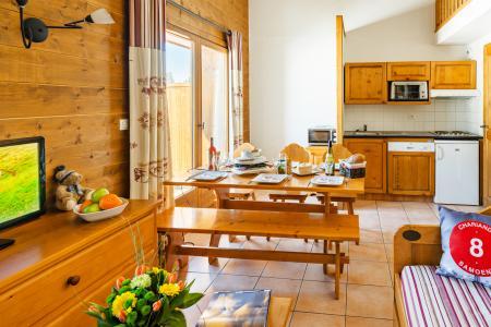 Vacances en montagne Résidence Lagrange les Fermes de Samoëns - Samoëns - Coin repas