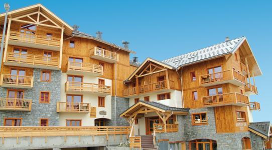 Location au ski Residence Lagrange Les Hauts De Comborciere - La Toussuire - Extérieur été