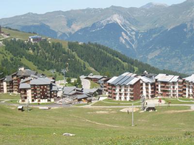 Location au ski Résidence Lagrange Vrt - La Plagne - Extérieur été