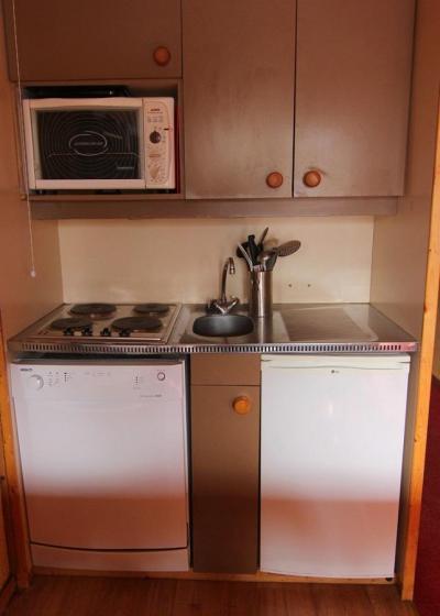 Vacances en montagne Appartement 2 pièces 5 personnes (511) - Résidence Lauzières - Val Thorens - Kitchenette
