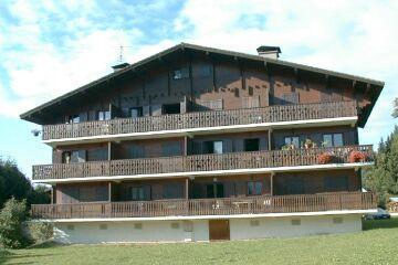 Location au ski Appartement 3 pièces 4 personnes (31) - Residence Laydevants - Les Carroz - Extérieur été