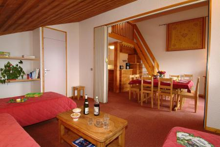 Holiday in mountain resort 4 room mezzanine apartment 10 people (B28) - Résidence le Beauregard - Valmorel