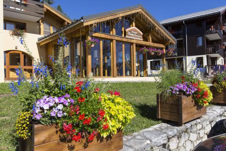 Location au ski Résidence le Beauregard - Valmorel - Extérieur été