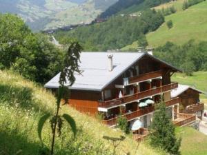 Location au ski Studio cabine 4 personnes (63) - Residence Le Bellecote - Arêches - Extérieur été