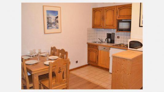 Vacances en montagne Appartement 2 pièces 6 personnes - Résidence le Biolley - Saint Martin de Belleville - Coin repas