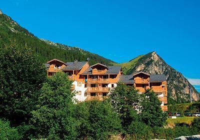 Location au ski Residence Le Blanchot - Pralognan-la-Vanoise - Extérieur été