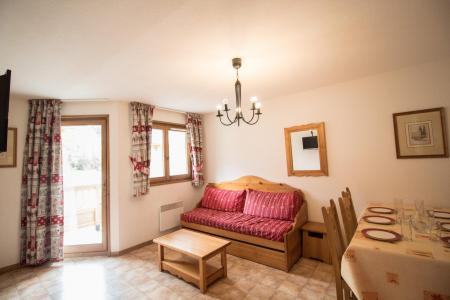 Holiday in mountain resort 2 room apartment 4 people (B05) - Résidence le Bonheur des Pistes - Val Cenis - Dining area