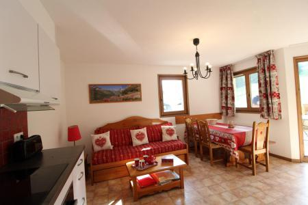 Holiday in mountain resort 3 room apartment 6 people (B15) - Résidence le Bonheur des Pistes - Val Cenis - Dining area
