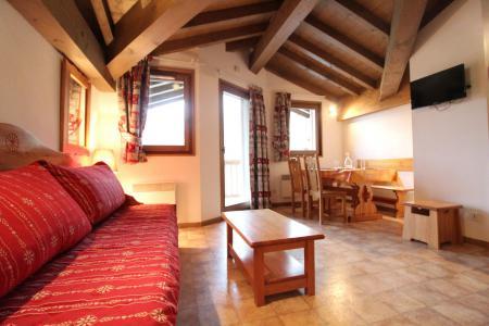 Vacances en montagne Appartement 2 pièces 4 personnes (B51) - Résidence le Bonheur des Pistes - Val Cenis - Séjour