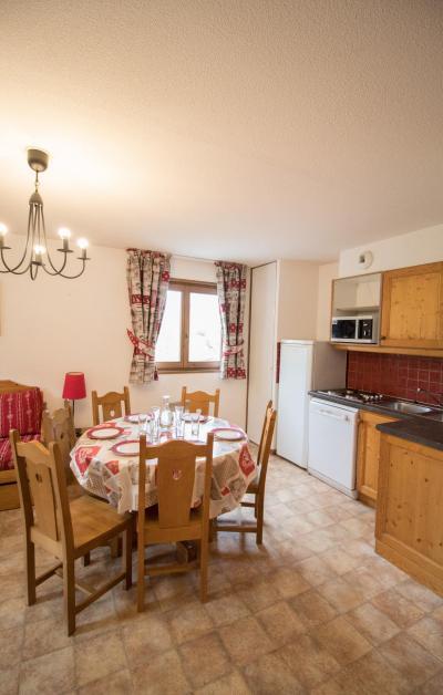 Vacances en montagne Appartement 3 pièces 6 personnes (A64) - Résidence le Bonheur des Pistes - Val Cenis - Cuisine