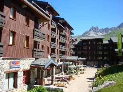 Vacances en montagne Studio 4 personnes (D20) - Résidence le Boulevard - Méribel-Mottaret