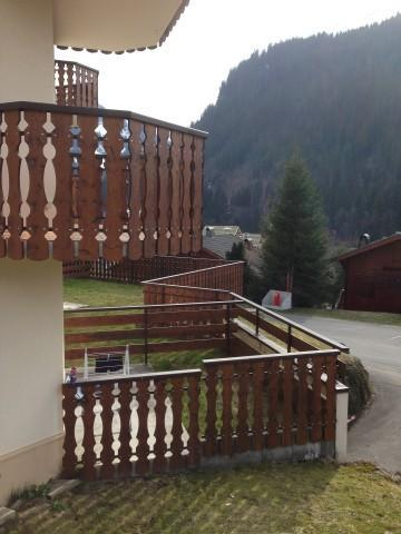 Rent in ski resort 2 room apartment sleeping corner 5 people (1) - Résidence le Bouquetin - les Jonquilles - Châtel - Summer outside