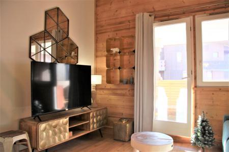 Vacances en montagne Appartement 4 pièces 8 personnes (3/1) - Résidence le Bourg Morel G - Valmorel - Coin séjour