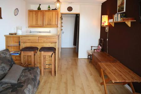 Holiday in mountain resort Studio 4 people (082) - Résidence le Boussolenc - Les Orres - Living room