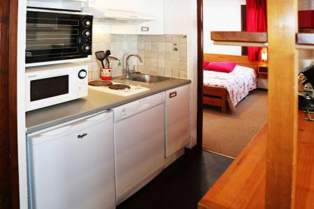 Holiday in mountain resort 2 room apartment 6 people (276) - Résidence le Cairn - Les Orres - Double bed
