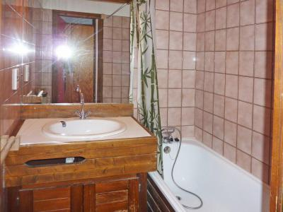 Holiday in mountain resort Studio sleeping corner 6 people (289) - Résidence le Cairn - Les Orres - Bathroom