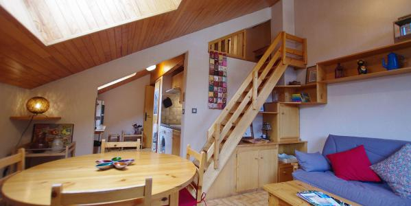 Vacances en montagne Appartement 3 pièces mezzanines 6 personnes (CCET019) - Résidence le Centre - Champagny-en-Vanoise - Balcon