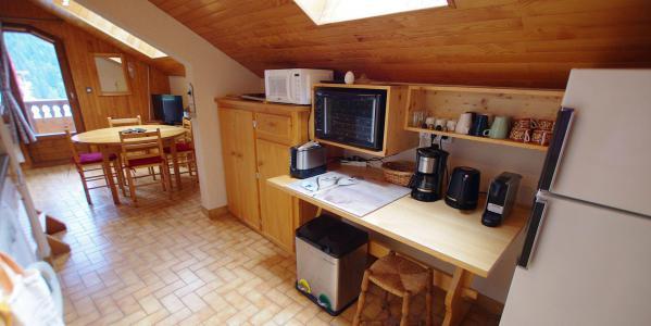 Vacances en montagne Appartement 3 pièces mezzanines 6 personnes (CCET019) - Résidence le Centre - Champagny-en-Vanoise - Salle à manger