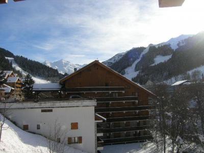 Location au ski Studio 4 personnes (17) - Residence Le Chalet De Meribel - Méribel - Extérieur été