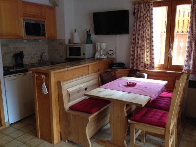 Vacances en montagne Appartement 2 pièces cabine 6 personnes (003CL) - Résidence le Chardonnet - Champagny-en-Vanoise - Table