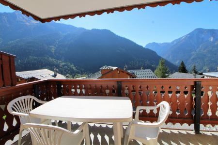 Vacances en montagne Appartement 2 pièces cabine 6 personnes (011CL) - Résidence le Chardonnet - Champagny-en-Vanoise - Balcon