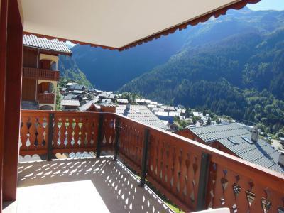 Vacances en montagne Appartement 2 pièces cabine 6 personnes (021CL) - Résidence le Chardonnet - Champagny-en-Vanoise - Balcon