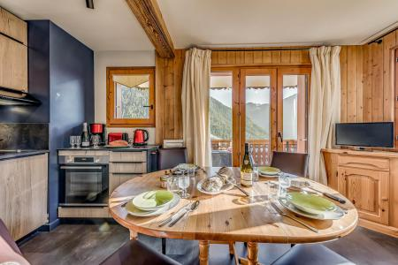 Vacances en montagne Appartement 3 pièces 6 personnes (052CL) - Résidence le Chardonnet - Champagny-en-Vanoise - Lits superposés