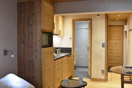 Vacances en montagne Studio 2 personnes (6) - Résidence le Chasseforêt - Méribel