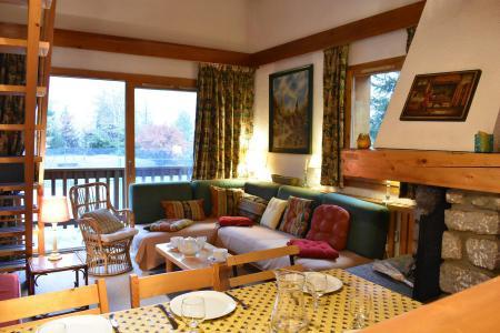 Vacances en montagne Appartement duplex 3 pièces 6 personnes (19) - Résidence le Chasseforêt - Méribel - Séjour