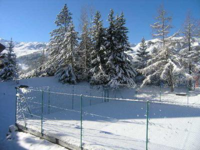 Location au ski Appartement duplex 3 pièces 6 personnes (20) - Residence Le Chasseforet - Méribel - Extérieur été