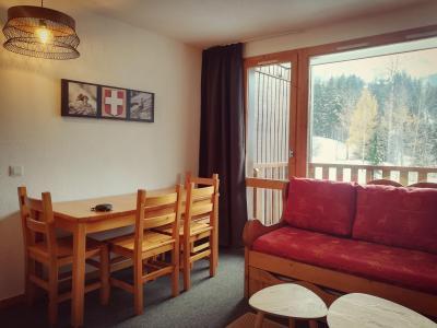 Vacances en montagne Appartement 2 pièces 4 personnes (C30) - Résidence le Cheval Blanc - Valmorel - Séjour