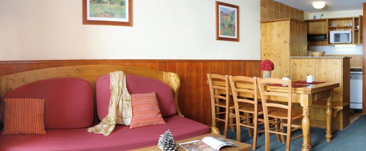 Vacances en montagne Résidence le Cheval Blanc - Val Thorens - Canapé-lit