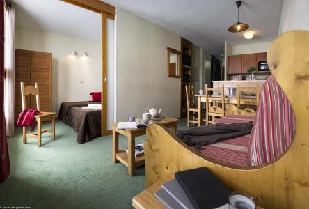 Vacances en montagne Résidence le Cheval Blanc - Val Thorens - Kitchenette