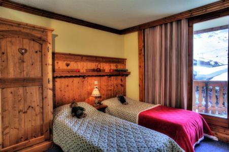 Vacances en montagne Résidence le Cheval Blanc - Val Thorens - Lit simple