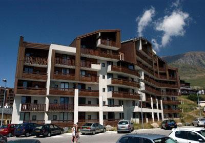 Location au ski Residence Le Christiania - Alpe d'Huez - Extérieur été