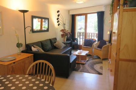 Vacances en montagne Appartement 3 pièces 6 personnes (CR23) - Résidence le Christina - Châtel - Banquette