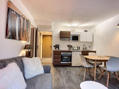 Vacances en montagne Appartement 2 pièces 4 personnes (Opus) - Résidence le Clos du Savoy - Chamonix - Cuisine ouverte