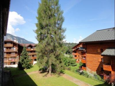 Location au ski Studio 4 personnes (231) - Residence Le Club - Les Carroz - Extérieur été