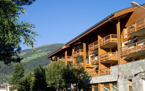 Vacances en montagne Résidence le Coeur d'Or - Les Arcs - Extérieur été