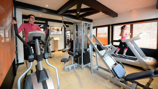 Vacances en montagne Résidence le Coeur d'Or - Les Arcs - Espace fitness