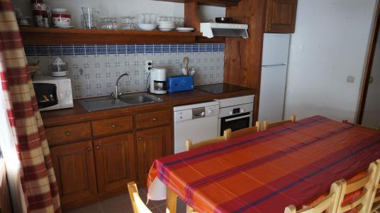 Vacances en montagne Appartement 4 pièces mezzanine 8 personnes (100) - Résidence le Crêt de l'Ours 2 - Peisey-Vallandry - Cuisine