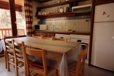 Vacances en montagne Appartement 4 pièces mezzanine 8 personnes (100) - Résidence le Crêt de l'Ours 2 - Peisey-Vallandry - Séjour