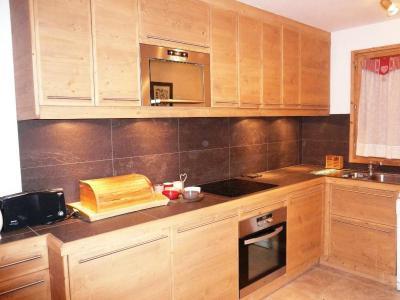 Vacances en montagne Appartement duplex 4 pièces 8 personnes (10 R) - Résidence le Cristal - Méribel - Cuisine