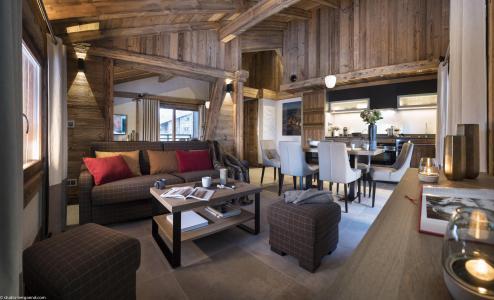Vacances en montagne Résidence le Cristal de Jade - Chamonix - Canapé